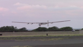 Solar Impulse 2 taking off